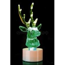 """Фигура светодиодная на подставке """"Олень"""", RGB, Neon-Night 501-042"""