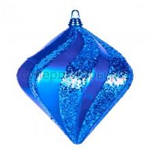 "Елочная фигура ""Алмаз"", 15 см, цвет синий, Neon-Night 502-163"