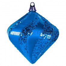 "Елочная фигура ""Алмаз"", 20 см, цвет синий, Neon-Night 502-203"