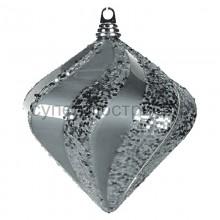 "Елочная фигура ""Алмаз"", 20 см, цвет серебряный, Neon-Night 502-205"