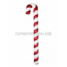 "Елочная фигура ""Карамельная палочка"" 121 см, цвет красный/белый, Neon-Night 502-245"
