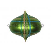 """Елочная фигура """"Волчок"""" 16 см, цвет зеленый мульти, Neon-Night 502-284"""