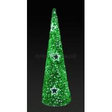 """Фигура """"Ель"""", LED подсветка, высота 5 м, зеленая, Neon-Night 506-256"""