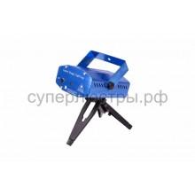Лазерный проектор с эффектом цветомузыки, 230V (1 проекция), Neon-Night 601-255
