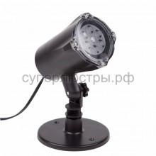 LED проектор, белые снежинки, 220В, Neon-Night 601-263