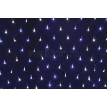 Гирлянда - сеть светодиодная 2*1,5м, свечение с динамикой, черный провод, белые/синие диоды Neon-Night 215-022