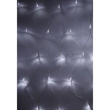 Гирлянда - сеть светодиодная 1,8*1,5м, свечение с динамикой, прозрачный провод, диоды белые Neon-Night 215-135