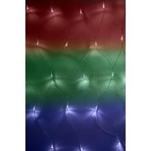 Гирлянда - сеть светодиодная 1,8*1,5м, свечение с динамикой, прозрачный провод, диоды мультиколор Neon-Night 215-139