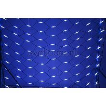 Гирлянда - сеть Чейзинг LED 2*1.5м (288 диодов), каучук, белые и синие диоды Neon-Night 217-113