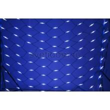Гирлянда - сеть Чейзинг LED 2*3м (432 диода), каучук, белые и синие диоды Neon-Night 217-123