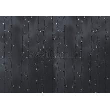 Гирлянда Светодиодный Дождь 2*9м, эффект водопада, черный провод, 220В, диоды белые Neon-Night 235-275