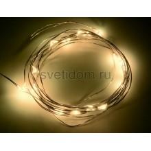 Гирлянда светодиодная Роса, 2 м, 20 диодов, цвет желтый Neon-Night 303-001