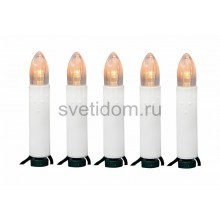 Гирлянда Свечи LED 4 м, 20 диодов, цвет теплый белый Neon-Night 303-083