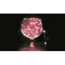 Гирлянда Твинкл Лайт 10 м, 100 диодов, цвет розовый Neon-Night 303-152