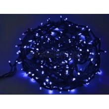 Гирлянда Твинкл Лайт 20 м, 240 диодов, цвет синий, черный провод каучук Neon-Night 303-323