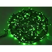 Гирлянда Твинкл Лайт 20 м, 240 диодов, цвет зеленый, черный провод каучук Neon-Night 303-324