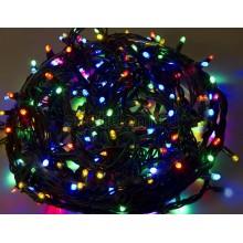 Гирлянда Твинкл Лайт 20 м, 240 диодов, цвет мультиколор, черный провод каучук Neon-Night 303-329
