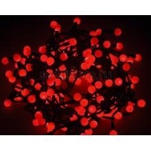 Гирлянда LED - шарики, ф17,5мм, 20 м, цвет свечения красный, 220В Neon-Night 303-502