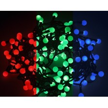 Гирлянда LED - шарики, RGB, ф13 мм, 5 м Neon-Night 303-539