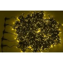 """Гирлянда """"LED ClipLight"""" 24V, 5 нитей по 20 метров, цвет диодов Желтый Neon-Night 323-501"""