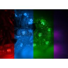 Гирлянда LED Galaxy Bulb String 10м, белый каучук, 30 ламп*6 LED мульти, влагостойкая IP65 Neon-Night 331-309
