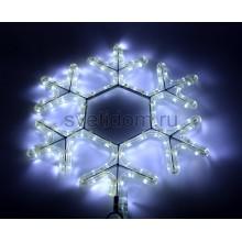 """Фигура световая """"Снежинка LED"""" цвет белый, размер 45*38 см Neon-Night 501-212-1"""
