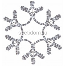 "Фигура ""Снежинка"" цвет теплый белый, размер 45*38 см Neon-Night 501-212"