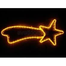 """Фигура """"Комета"""" цвет желтый, размер 29*66 см Neon-Night 501-214"""