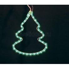 "Фигура ""Елочка"" цвет зеленый, размер 33*25 см Neon-Night 501-216"