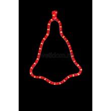 """Фигура """"Колокольчик"""" цвет красный, размер 36*30 см Neon-Night 501-217"""