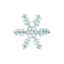 """Фигура световая """"Снежинка резная"""" цвет белый, размер 45*38 см Neon-Night 501-222"""