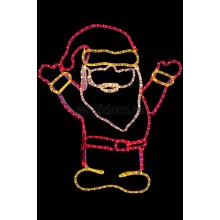 "Фигура ""Дед Мороз Привет!"", размер 83*69 см Neon-Night 501-318"