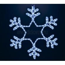 """Фигура """"Снежинка"""" LED Светодиодная, без контроллера, размер 55*55см,синяя Neon-Night 501-335"""