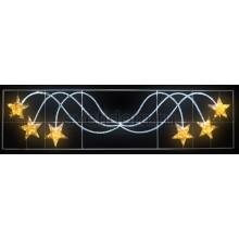 "Фигура световая ""Брызги звезд"" 360 светодиодов 24м дюралайта, размер 400*100см Neon-Night 501-361"