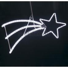 """Фигура светодиодная """"Падающая Звезда"""" цвет белый, 40*80 см Neon-Night 501-532"""