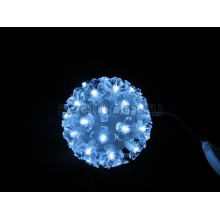Шар светодиодный 220V, диаметр 12 см, 50 светодиодов, цвет белый Neon-Night 501-601