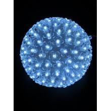 Шар светодиодный 220V, диаметр 20 см, 200 светодиодов, цвет белый Neon-Night 501-606