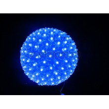 Шар светодиодный 220V, диаметр 20 см, 200 светодиодов, цвет синий Neon-Night 501-607