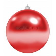 Елочная фигура Шар, 25 см, цвет красный Neon-Night 502-012