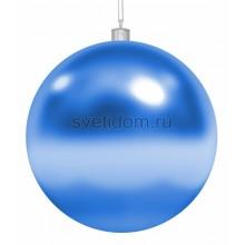 Елочная фигура Шар, 30 см, цвет синий Neon-Night 502-023