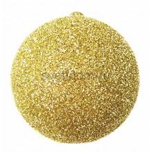 Елочная фигура Шар с блестками, 20 см, цвет золотой Neon-Night 502-031