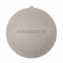 Елочная фигура Шар с блестками, 30 см, цвет серебряный Neon-Night 502-055