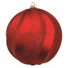 Елочная фигура Шар Вихрь, 20 см, цвет красный Neon-Night 502-062