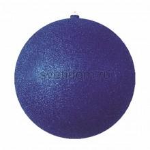 Елочная фигура Шарик, 20 см, цвет синий Neon-Night 502-133