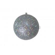 Елочная фигура Шарик, 20 см, цвет серебряный Neon-Night 502-135