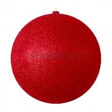 Елочная фигура Шарик, 30 см, цвет красный Neon-Night 502-152