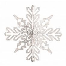 Елочная фигура Снежинка ажурная 3D, 46 см, цвет белый Neon-Night 502-356