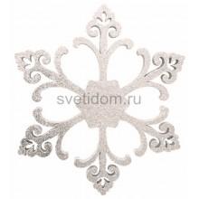 Елочная фигура Снежинка Морозко, 66 см, цвет белый Neon-Night 502-370