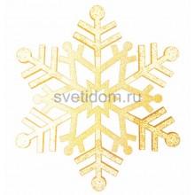 Елочная фигура Снежинка резная, 81 см, цвет золотой Neon-Night 502-381