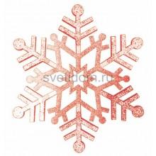 Елочная фигура Снежинка резная, 81 см, цвет красный Neon-Night 502-382